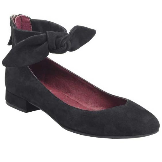 ONO Hosta Black Suede N27200 (Women's)