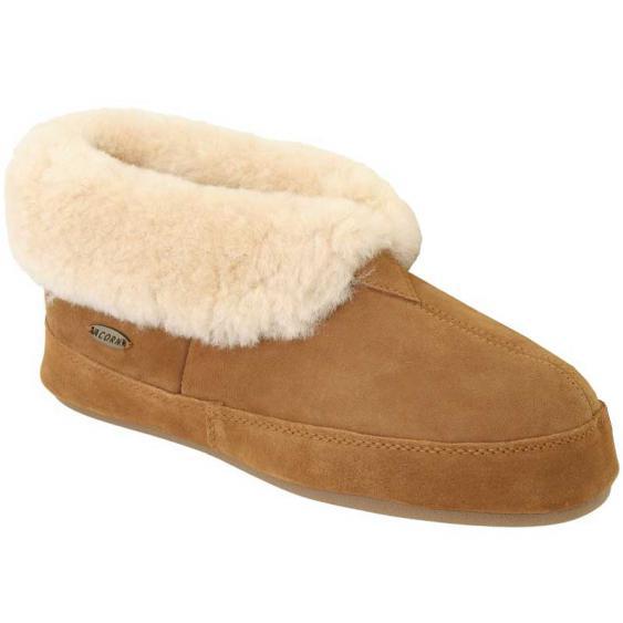 Acorn Sheepskin Bootie II Walnut A10782BEZ (Men's)