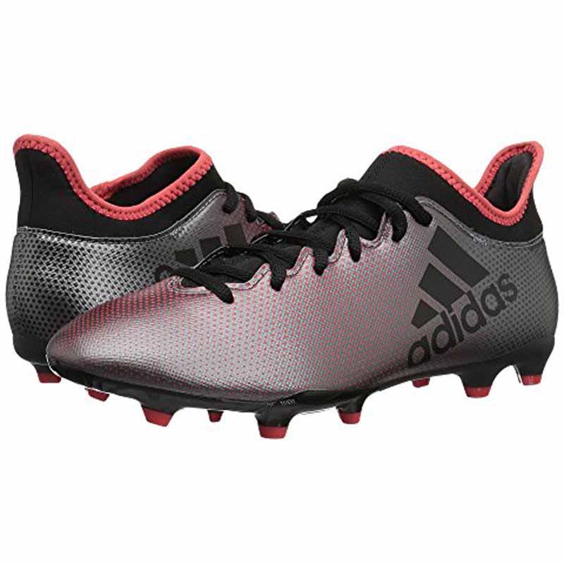 Adidas X 17.3 FG Grey Black Coral DB1402 (Men's)
