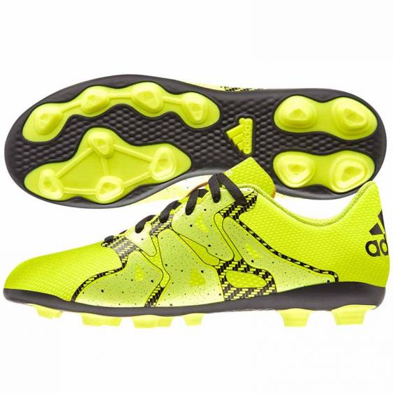 Adidas X 15.4 FxG Solar Yellow / Black B32788 (Youth)