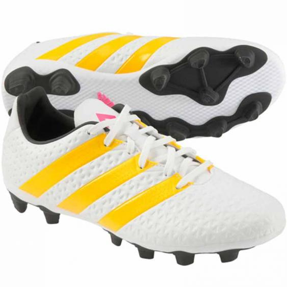 Adidas Ace 16.4 FXG White / Gold AF5038 (Women's)