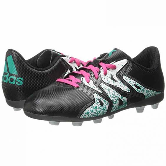 Adidas X 15.4 FXG J Black / Mint S74599 (Youth)