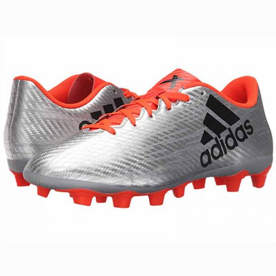 Adidas X 16.4 FXG Silver / Black / Red S75676 (Men's)
