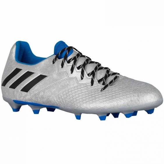Adidas Messi 16.3 FG J Silver / Blue / Black S79623 (Youth)