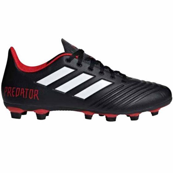 Adidas Predator 18.4 FXG Black / White / Red DB2007 (Men's)