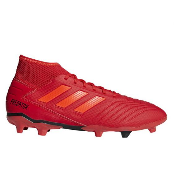 Adidas Predator 19.3 FG Red/ Black BB9334 (Men's)