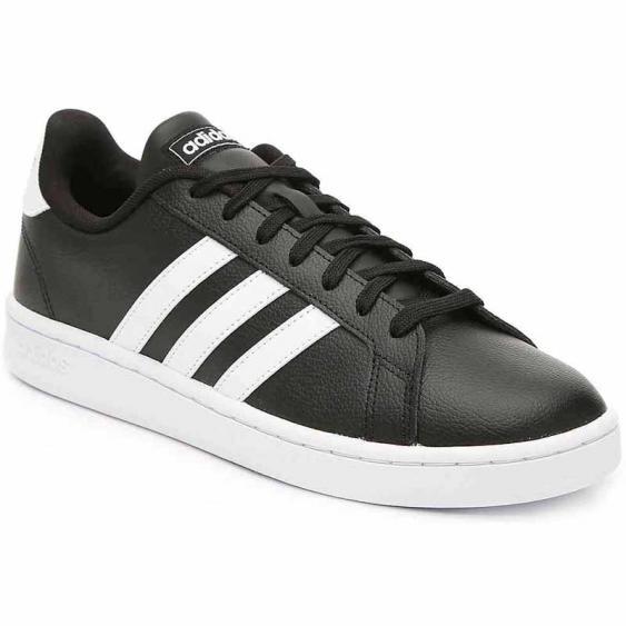 Adidas Grand Court Black / White F36393 (Men's)