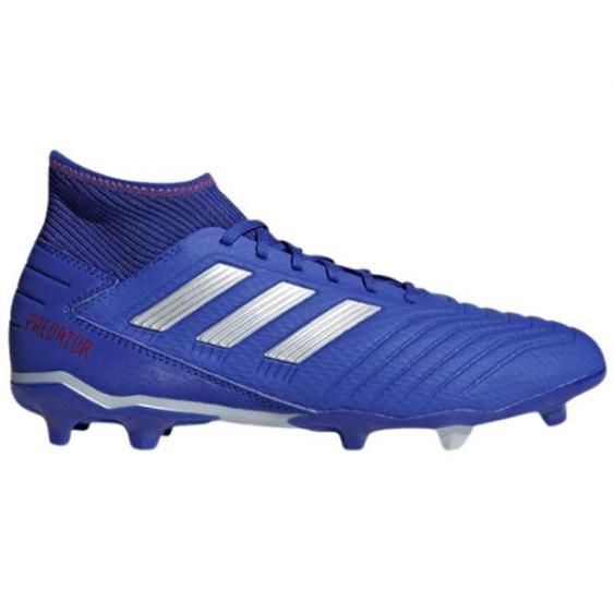 Adidas Predator 19.3 FG Blue/ Silver/ Red BB8112 (Men's)