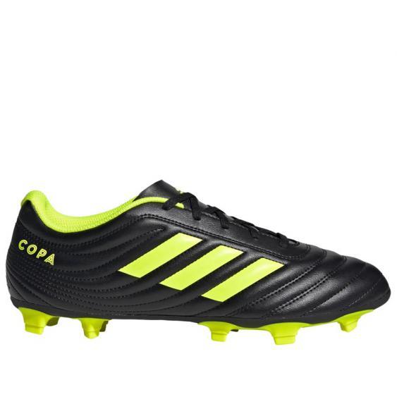 Adidas Copa 19.4 FG Black/ Silver/ Yellow BB8091 (Men's)
