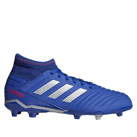 Adidas Predator 19.3 FG JR Blue/ Silver/ Red CM8533 (Youth)