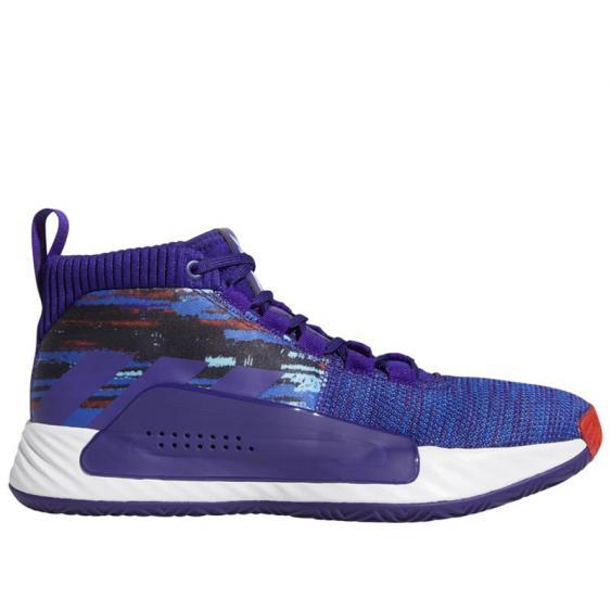 Adidas Dame 5 Purple/ Royal/ White EF0500 (Men's)