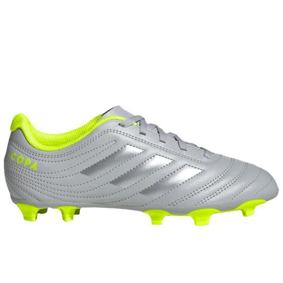 Adidas Copa 20.4 FG J Grey Two F17/ Silver/ Yellow EF8345 (Youth)