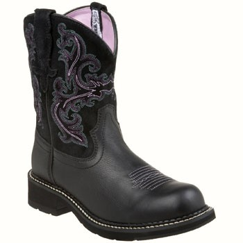 Ariat Fatbaby II Black Deertan 10004729 (Women's)