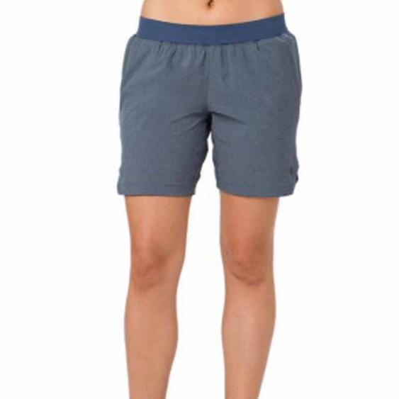 Asics Reflective Bar Short 7'' Dark Blue Heather 154263.1273 (Women's)