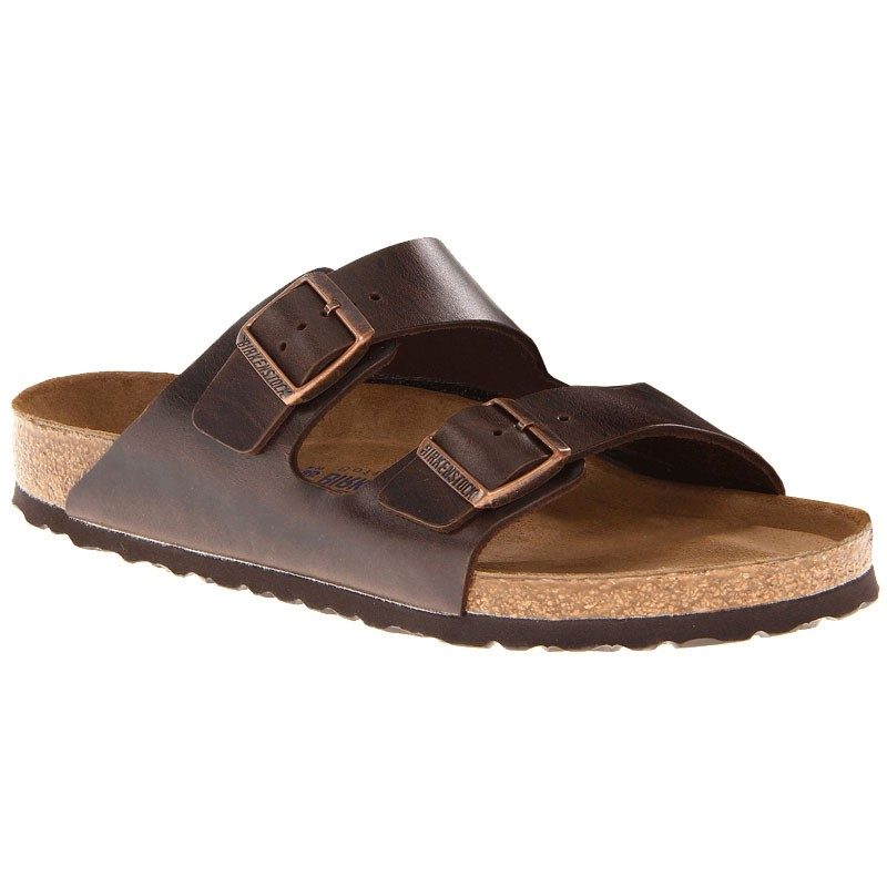authentic price reduced lower price with Birkenstock Arizona SF Brown Amalfi Leather 55234 (Unisex)