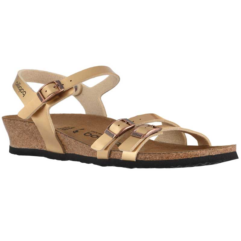 Birkenstock Lana Metallic Light Copper Birko Flor 1013 061 (Women's)