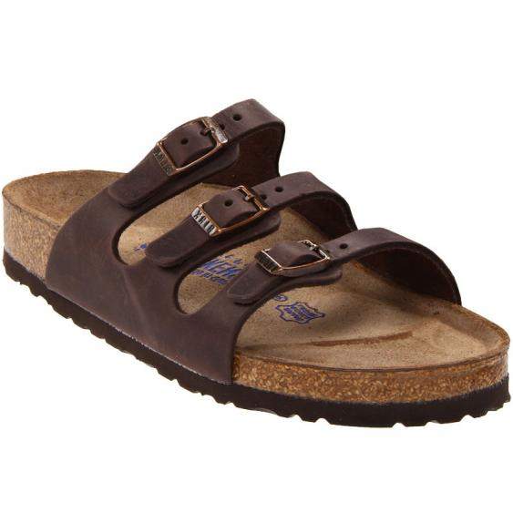 Birkenstock Florida SF Habana Oiled Leather 5390 (Women's)