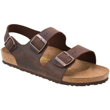 Birkenstock Milano Habana Oiled Leather 3487-1/3 (Unisex)