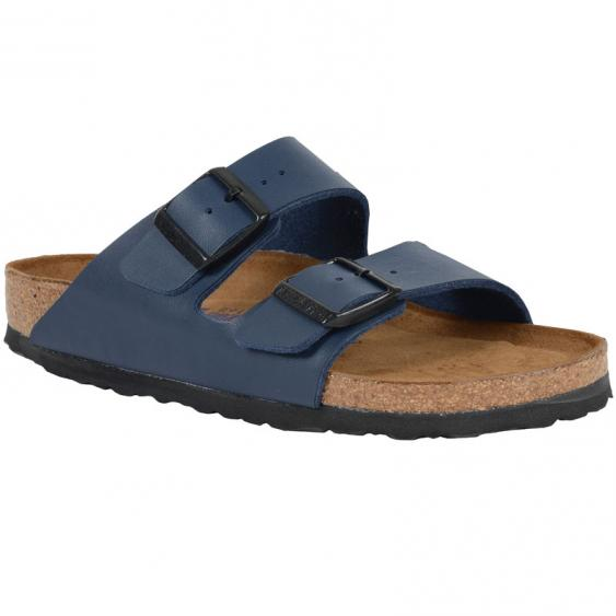 Birkenstock Arizona Soft Footbed Navy Birko-Flor 5106-3 (Women's)