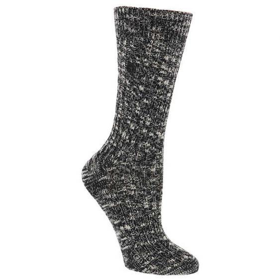 Birkenstock Cotton Slub Black/ Gray 1008-031 (Women's)