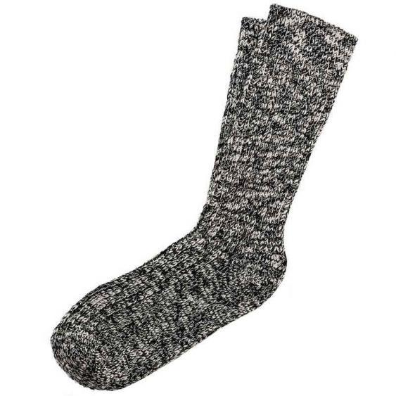 Birkenstock Cotton Slub Black/Grey 1008-039 (Men's)