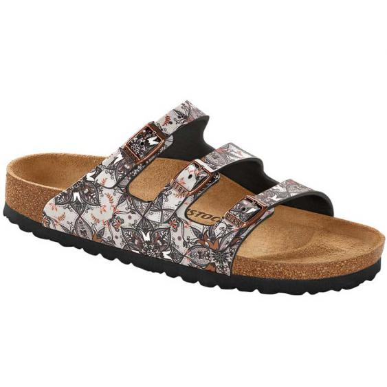 Birkenstock Florida Fresh Boho Flowers Navy 1015-992 (Women's)