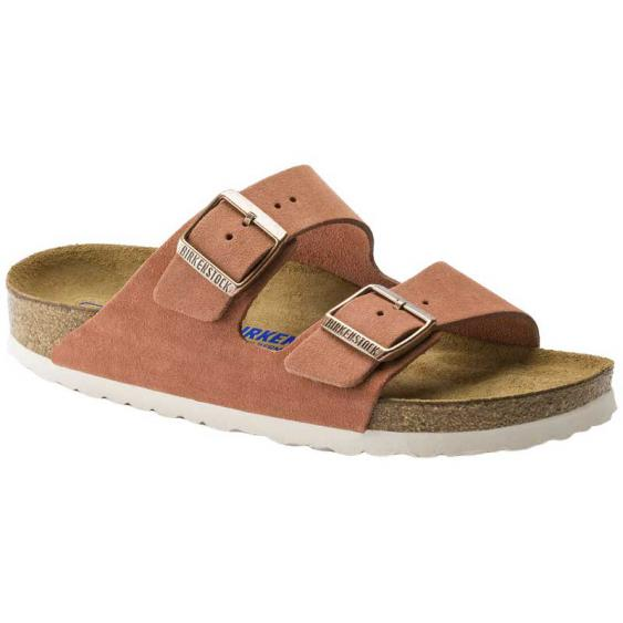 Birkenstock Arizona SF Earth Red Suede 1015-888 (Women's)