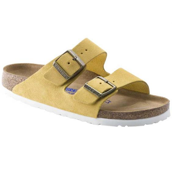 Birkenstock Arizona SF Ochre Suede 1015-889 (Women's)