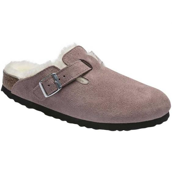 Birkenstock Boston Shearling Lavender 1017-578 (Women's)