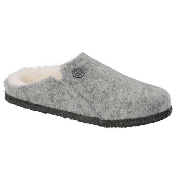 Birkenstock Zermatt Wool Felt Shearling Light Grey 1015-086 (Women's)