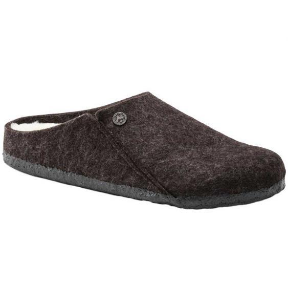 Birkenstock Zermatt Wool Felt Shearling Mocha 1016-570 (Men's)