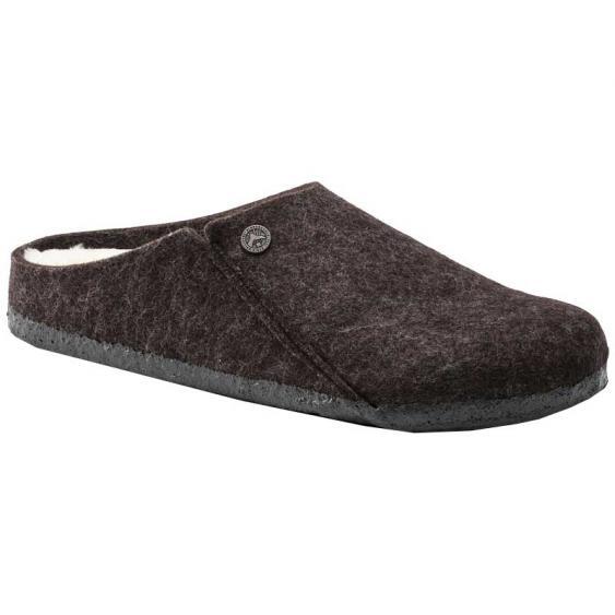 Birkenstock Zermatt Wool Felt Shearling Mocha 1016-571 (Women's)
