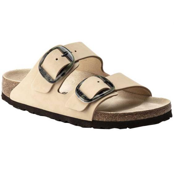 Birkenstock Arizona Big Buckle Almond Nubuck 1018-861 (Women's)