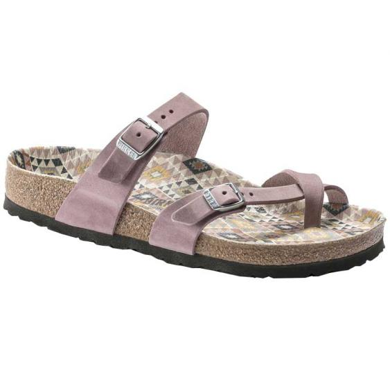 Birkenstock Mayari Ethno/Lavender Blush Oiled Leather 1019-367 (Women's)