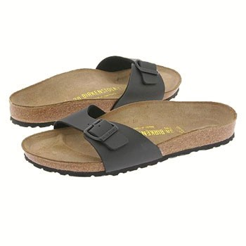 Birkenstock Madrid Black Birko-Flor 4079-3 (Women's)