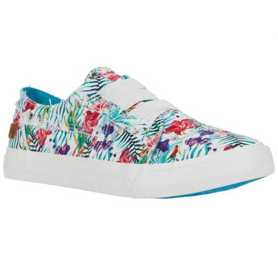 Blowfish Marley Off White Hibiscus ZS-0071-OFWTH (Women's)