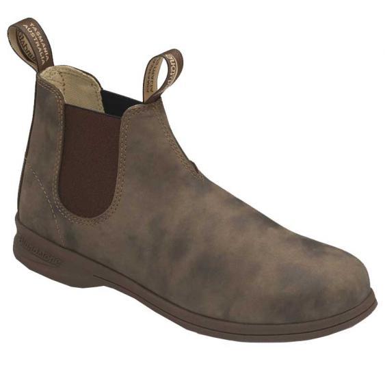 Blundstone 1496 Chelsea Boot Rustic Brown (Unisex)