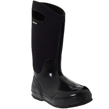 Bogs Classic High Handles Black Shine 60155 (Women's)