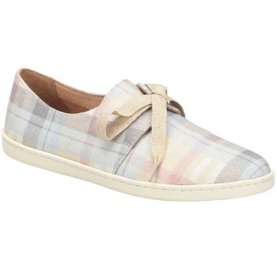 Born Datil Natural Plaid F59702 (Women's)
