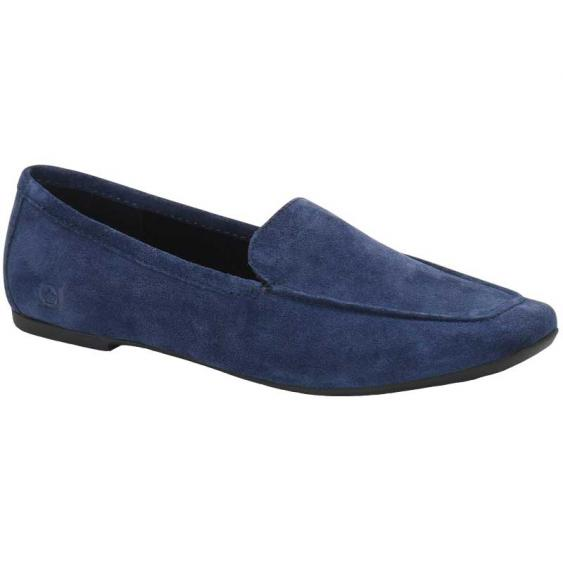 Born Petil Navy Suede F69474 (Women's)