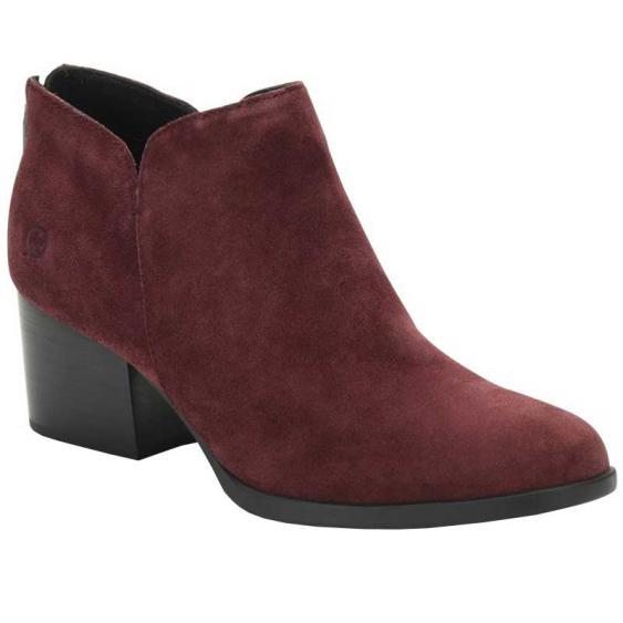 Born Aare Burgundy F70047 (Women's)