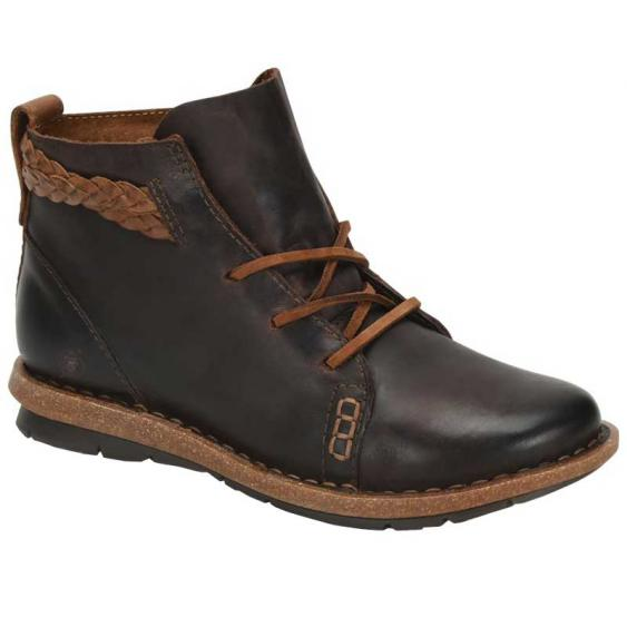 Born Temple Dark Brown F32523 (Women's)