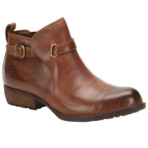 Born Tanaro Brown (Barley) Full Grain F71306 (Women's)