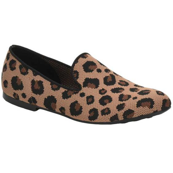 Born Bhanna Light Brown Leopard F76441 (Women's)