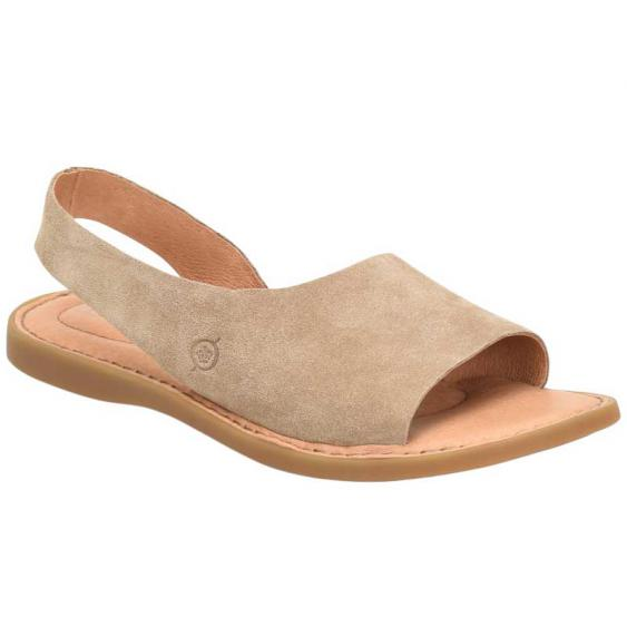 Born Inlet Taupe (Beige) Suede BR0002217 (Women's)