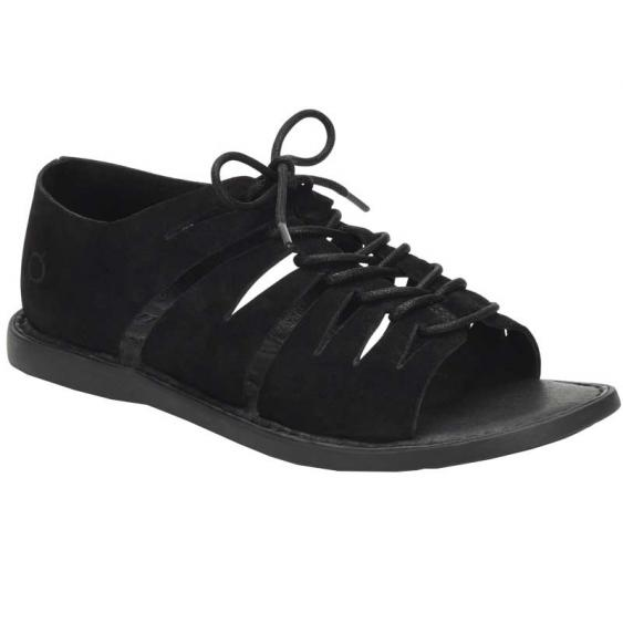 Born Izhma Black Suede BR0002303 (Women's)