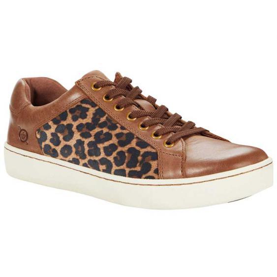 Born Sur Light Brown Leopard F69641 (Women's)