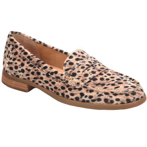 Born Bly Black/ Natural Cheetah Fabric BR0017898 (Women's)