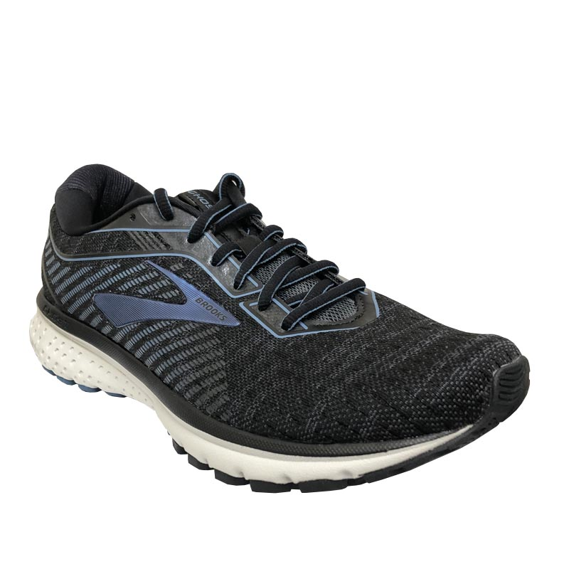 Brooks Ghost 12 Black Grey Stellar 110316 058 (Men's)