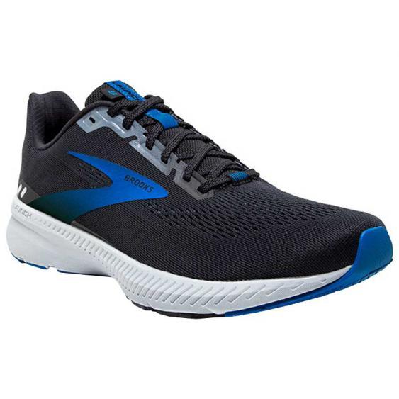 Brooks Launch 8 Black/ Grey/ Blue 110358-018 (Men's)